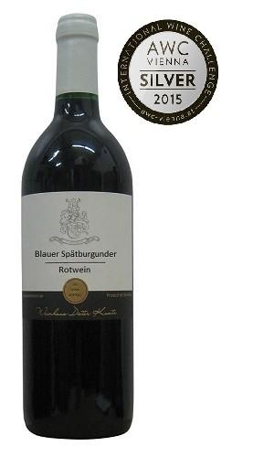 Spätburgunder feinherb 2014 vom Weingut Kuntz