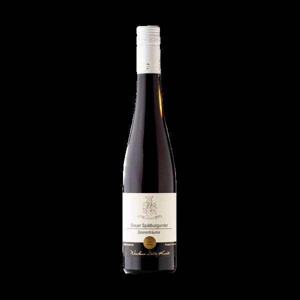Suesser Blauer Spaetburgunder Rotwein Beerentraeumer aus der Pfalz