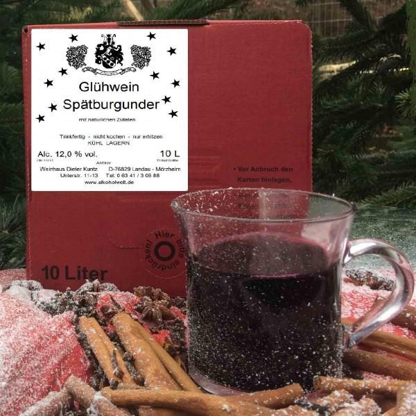 Spätburgunder Glühwein 10 L Bag in Box SILBER*