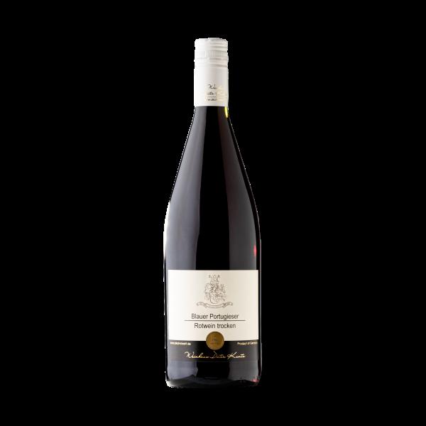 Trockener Blauer Portugieser Rotwein aus der Pfalz
