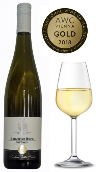 Sauvignon Blanc feinherb 2018 vom Weingut Dieter Kuntz