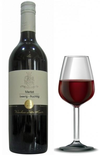 Merlot beerig fruchtig - ein Traum von Frucht und Frische, leckerer Rotwein