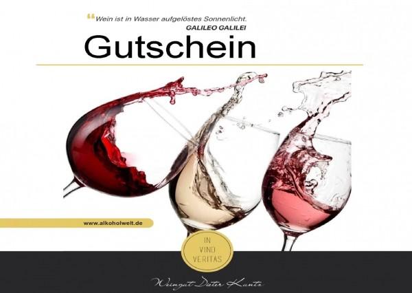 Gutschein Weinprobe
