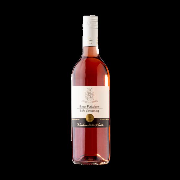 Süßer Portugieser Rose Wein aus der Pfalz 2019