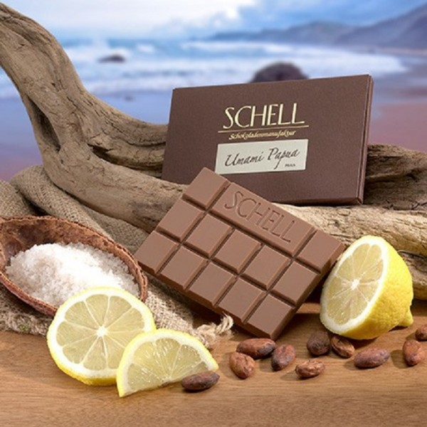 Milchschokolade Umami Papua