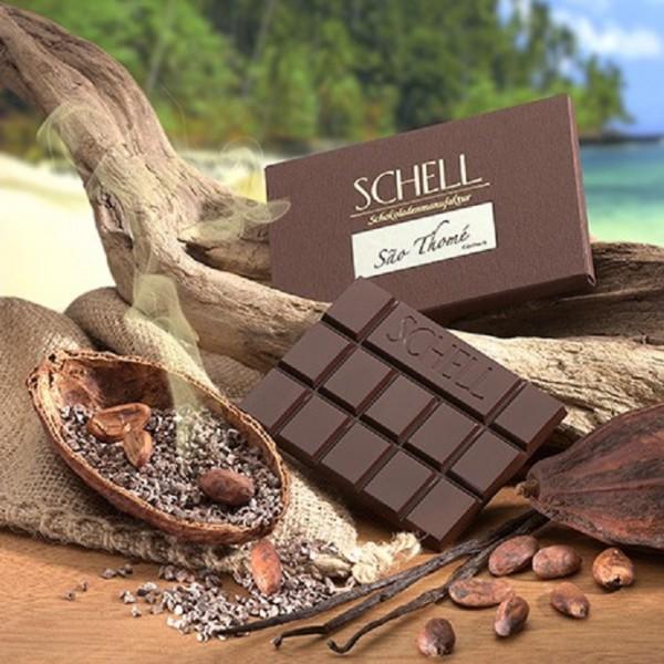 Schokolade edelherb Sao Thomé