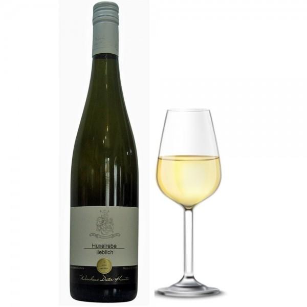 Huxelrebe Weißwein lieblich Jahrgang 2016 vom Weingut Dieter Kuntz