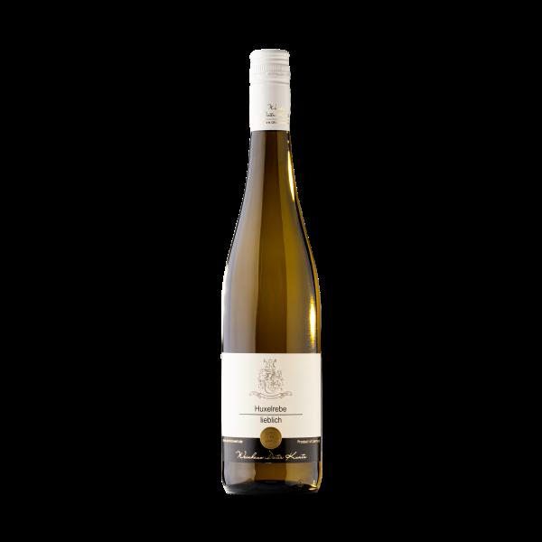 Lieblicher Huxelrebe Weisswein aus der Pfalz 2019