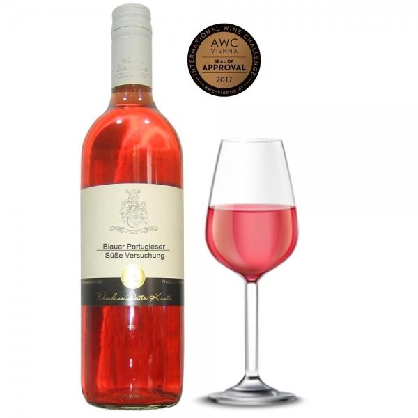 Weinset Rosewein süß und lieblich