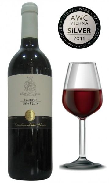 Weinset Rotwein süß mit Eiswein Blanc de Noir