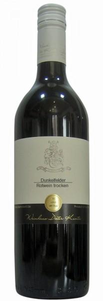 Dunkelfelder trocken Rotwein vom Weinhaus Kuntz Pfalz