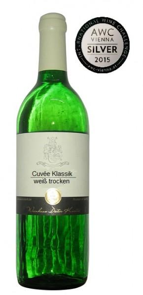 Cuvée weiß trocken Klassik 2014 im 18er Paket