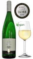 Riesling feinherb 2018 VEGAN - halbtrockener Riesling vom Weingut Dieter Kuntz