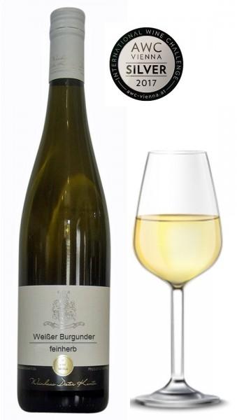 Weinset süffige fruchtige Weiße Burgunder halbtrocken feinherb